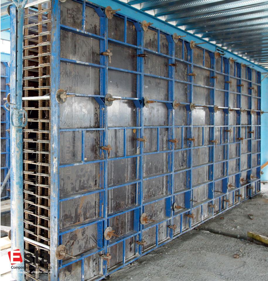 سیستم قالببندی دیوارهای برشی